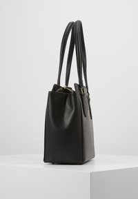 Guess - OPEN ROAD LUXURY SATCHEL - Handbag - black - 4
