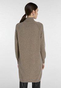 SET - Jumper dress - taupe - 2