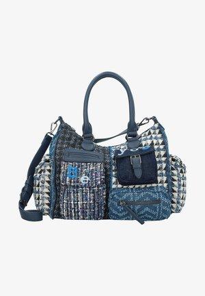 BOLS NEW 1968 LONDON  - Shopping Bag - medieval blue