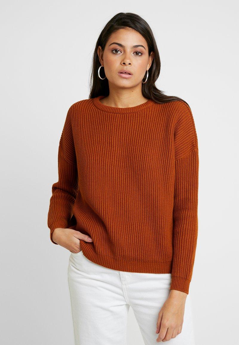 AMOV - CARMEN - Sweter - amber