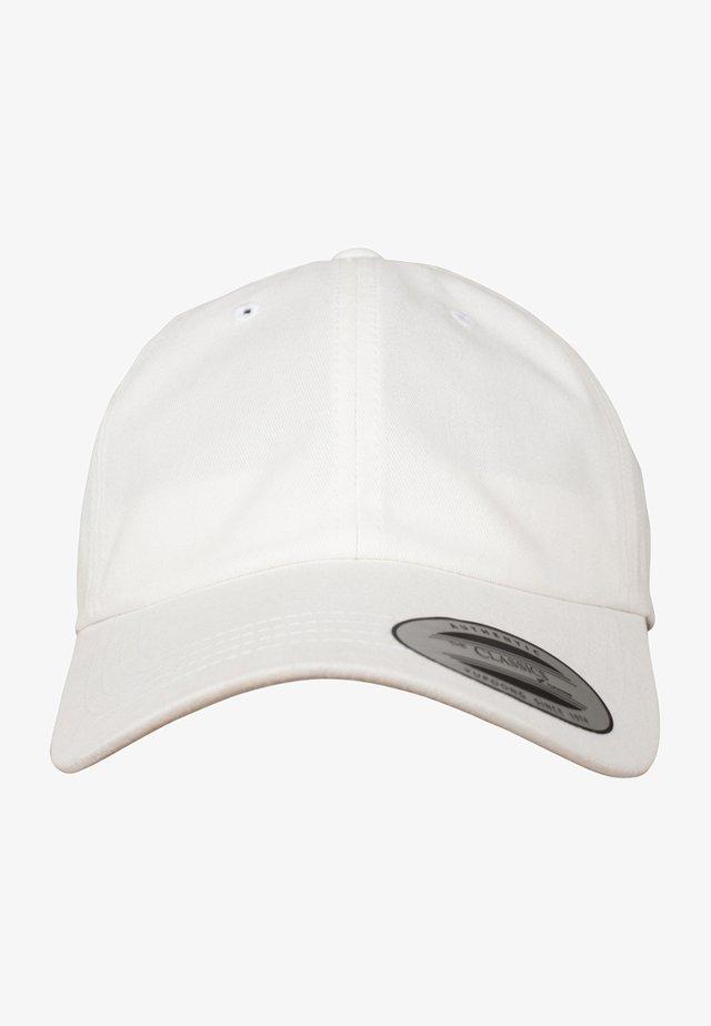 PEACHED COTTON TWILL DAD - Casquette - white