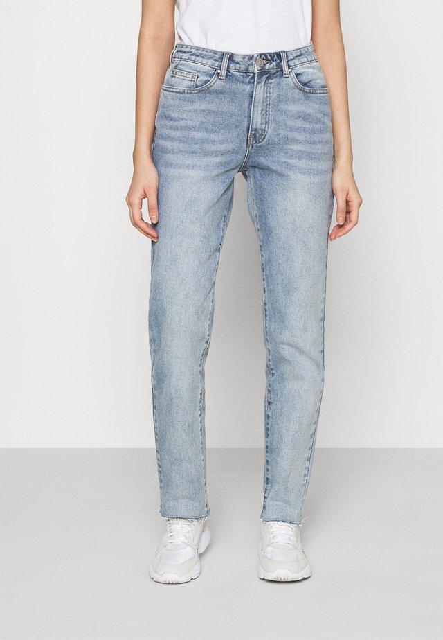 VISTRAY STRAIGHT - Jeans a sigaretta - light blue denim