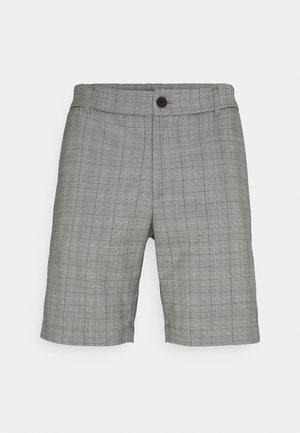 CHARLIE CHECK - Shorts - black