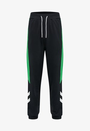 HMLCLAUS  - Tracksuit bottoms - bright green