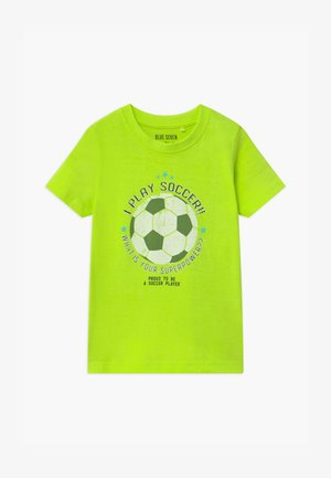 SMALL BOYS FOOTBALL - T-shirt con stampa - light green