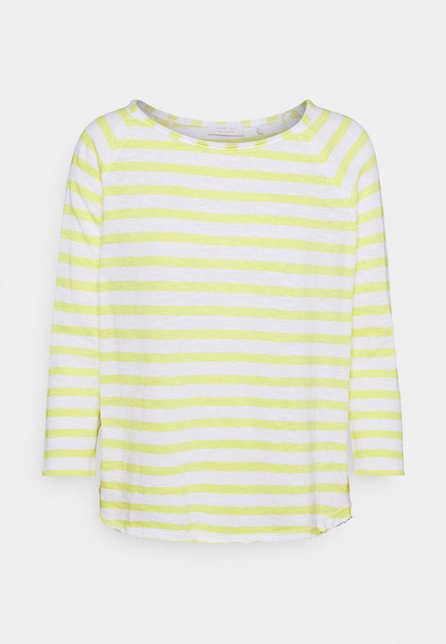 HEAVY STRIPED - Longsleeve - lemonade