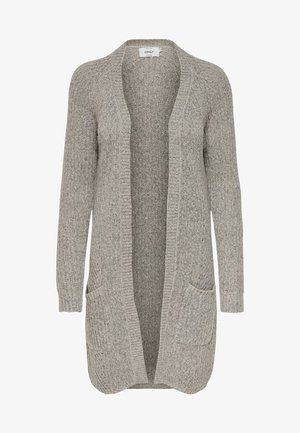 ONLBERNICE CARDIGAN - Kardigan - light grey melange