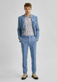 Selected Homme - Suit trousers - light blue - 1