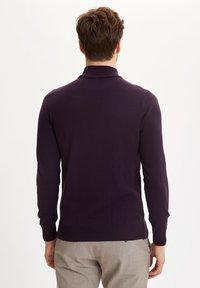 DeFacto - Stickad tröja - purple - 1