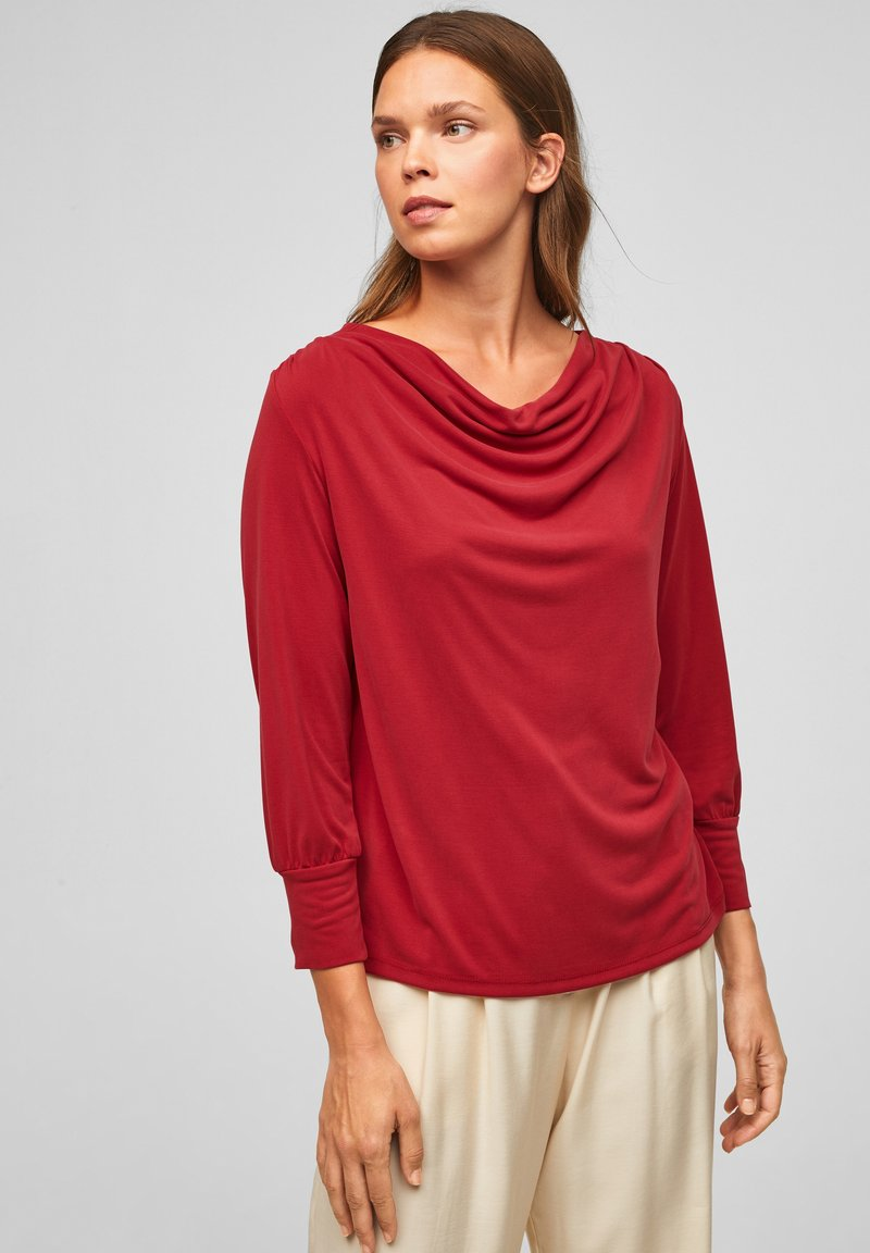 s.Oliver BLACK LABEL - Long sleeved top - bright red
