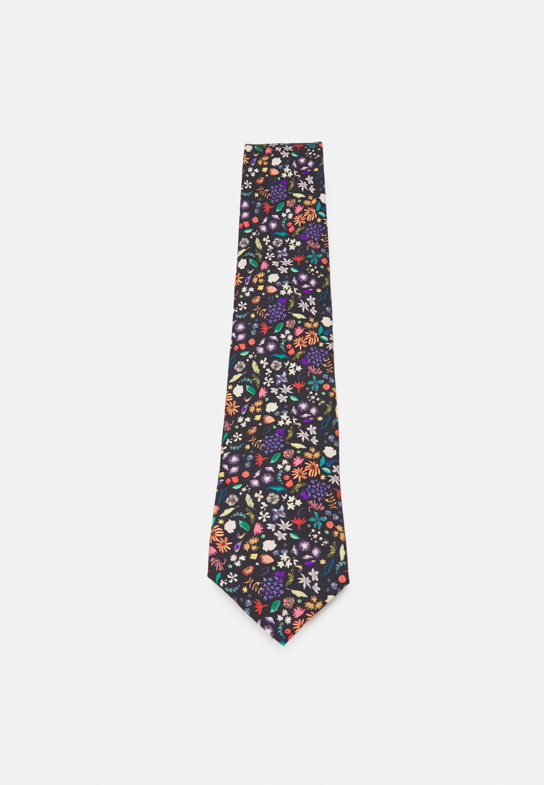 Herren TIE PAINTED FLORAL - Krawatte