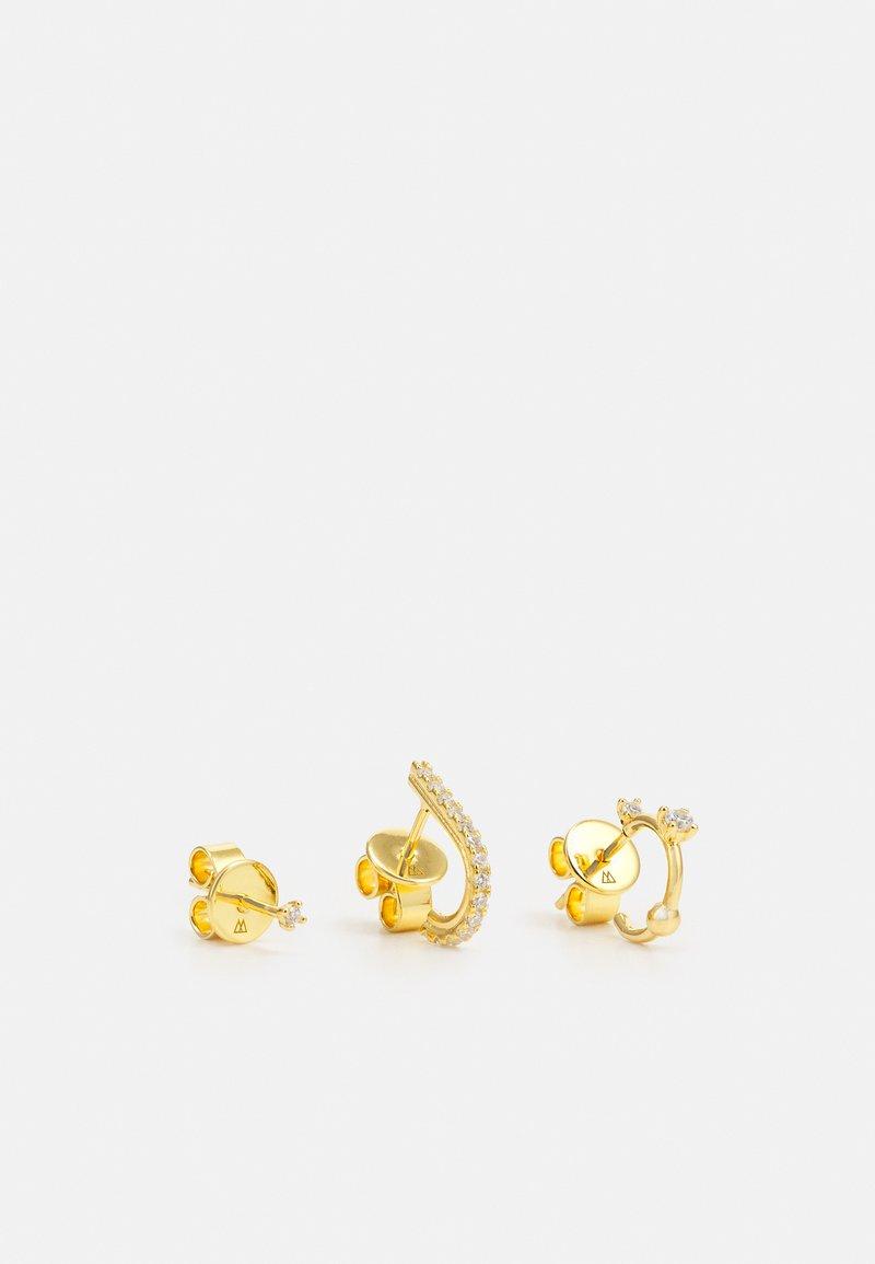 PDPAOLA - L'OISEAU 3 PACK - Earrings - gold-coloured