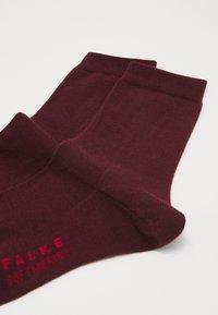 FALKE - Socks - barolo - 1