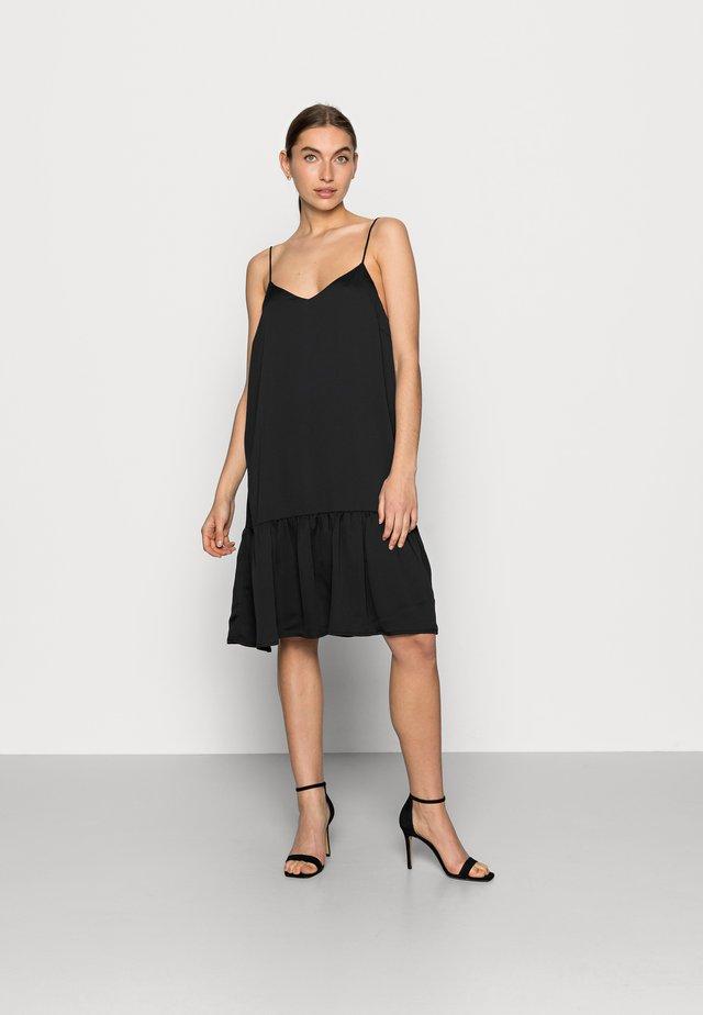 JANIE DRESS - Denní šaty - black