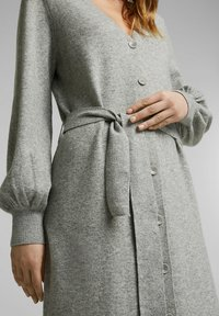 Esprit - LONG DRESS - Maxi dress - medium grey - 3