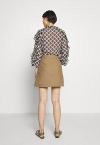 MAX&Co. - CAVILLO - A-line skirt - brown - 2