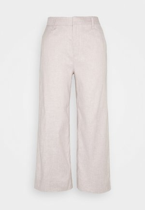 EVERYBODY WIDE LEG - Trousers - light sand