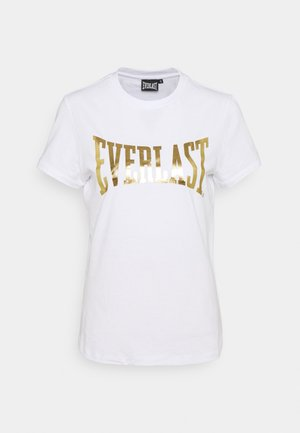 BASIC TEE LAWRENCE - Camiseta estampada - white