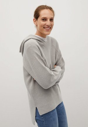 CAMI-I - Sweat à capuche - grey