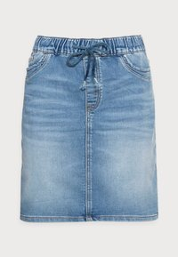 Denim skirt - blue light wash