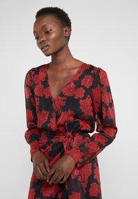 The Kooples - ROBE COURTE - Vestito elegante - red/black - 4