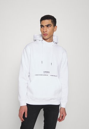 FLY HIGH HOODIE UNISEX - Sweatshirt - white