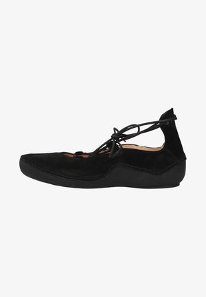 Sportieve veterschoenen - schwarz