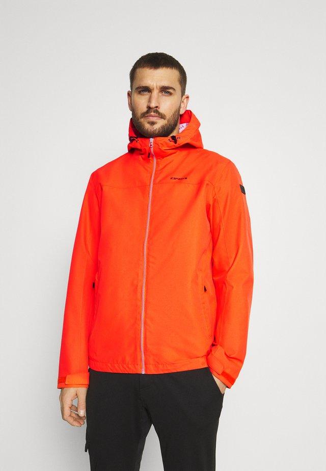 VELDEN - Outdoor jakke - dark orange