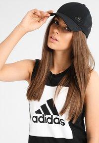 adidas Performance - BONDED - Caps - black - 1