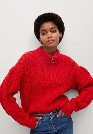 ZIPPO - Sweter - rot