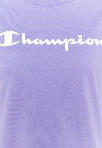 Champion - CREWNECK - T-shirts med print - purple - 7