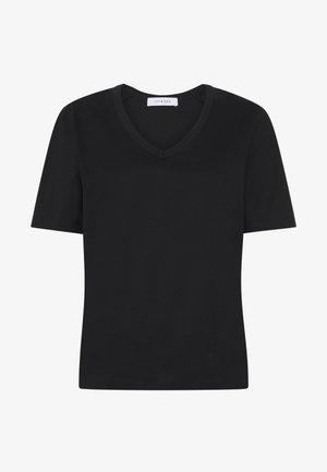 NUDMEG - Basic T-shirt - black