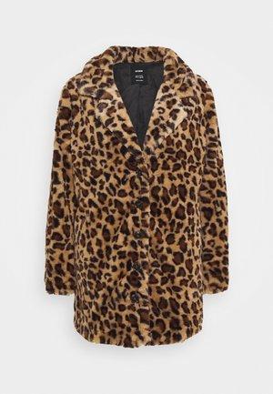 MID COAT - Classic coat - brown