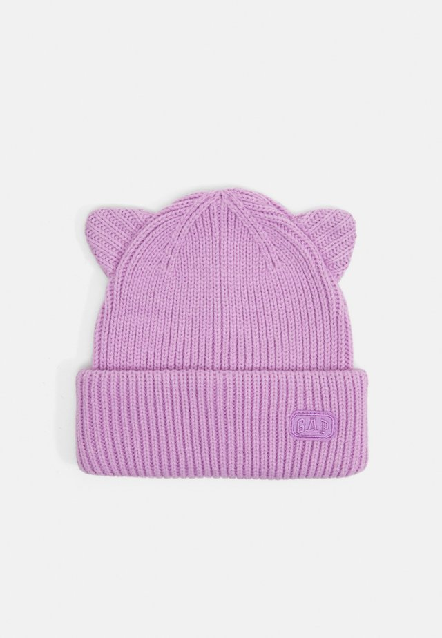 CAT HAT - Huer - purple rose
