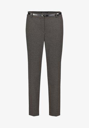 Trousers - schwarz beige