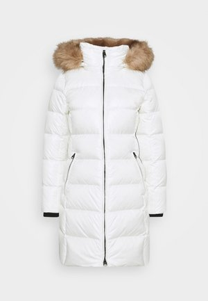 ESSENTIAL REAL COAT - Kabát zprachového peří - snow white
