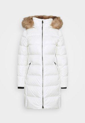 ESSENTIAL REAL COAT - Down coat - snow white