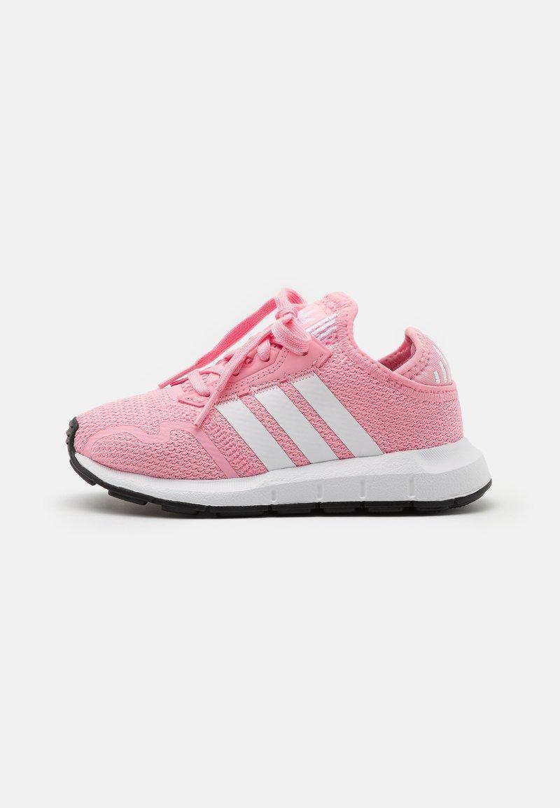 adidas Originals - SWIFT RUN X SHOES - Trainers - light pink/footwear white/core black