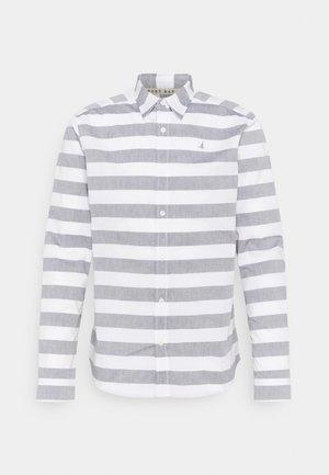 BOLD STRIPE  - Skjorta - white/grey