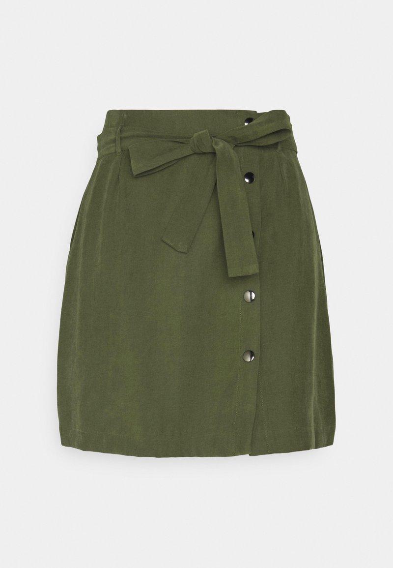 NAF NAF - SAFA  - Mini skirt - urban kaki