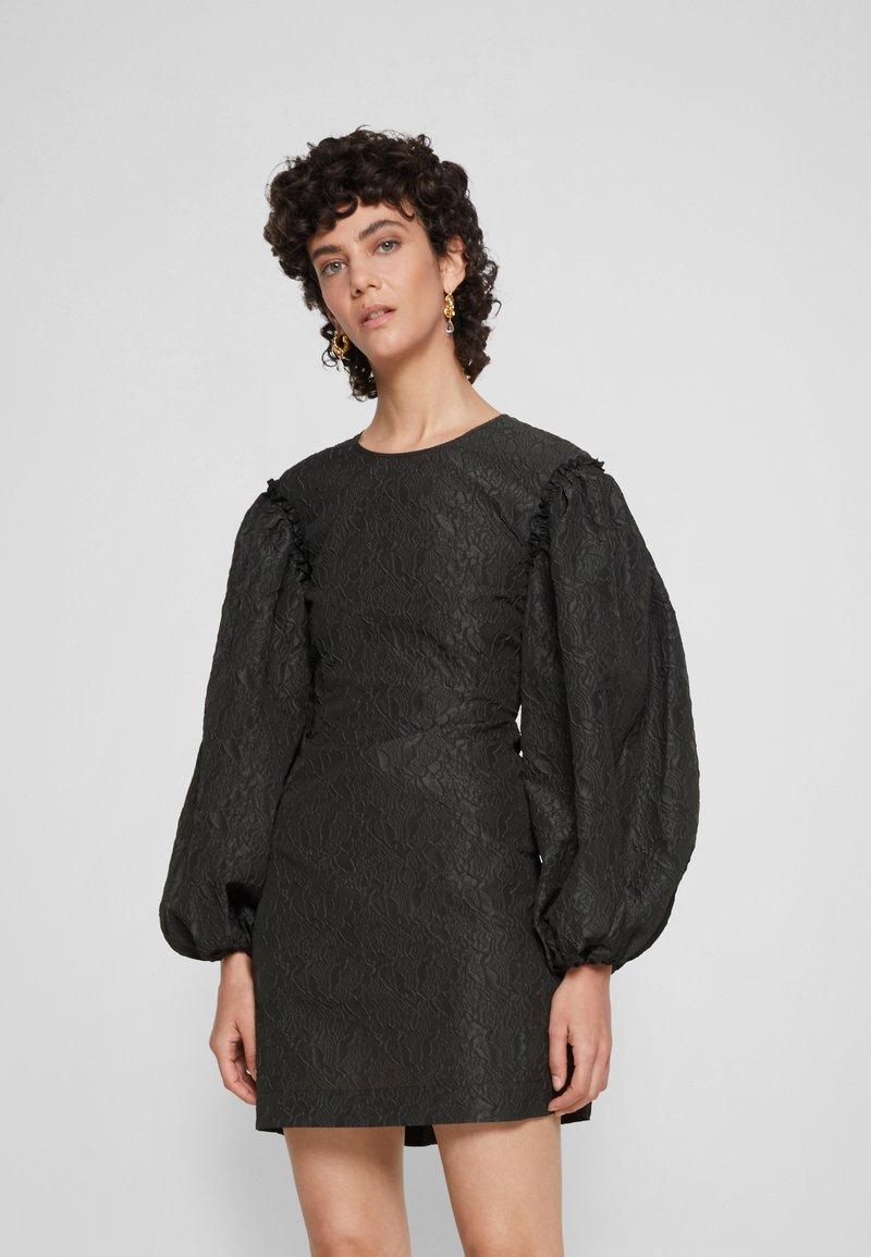 DESIGNERS REMIX - KAPPA SLEEVE DRESS - Cocktail dress / Party dress - black