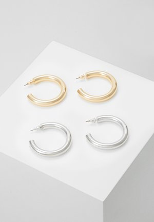 THICK HOOP 2 PACK - Náušnice - mixed metal