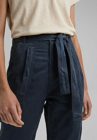 edc by Esprit - UTILITY  - Trousers - navy - 3