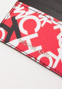 Michael Kors - TALL CARD CASE UNISEX - Wallet - red/black - 3