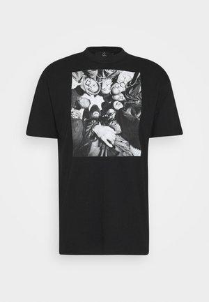 DONNA BILL - Print T-shirt - black