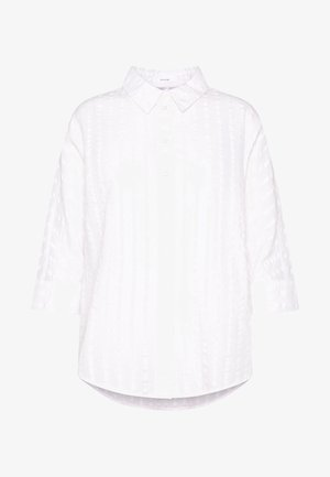 FJELLA - Button-down blouse - milk