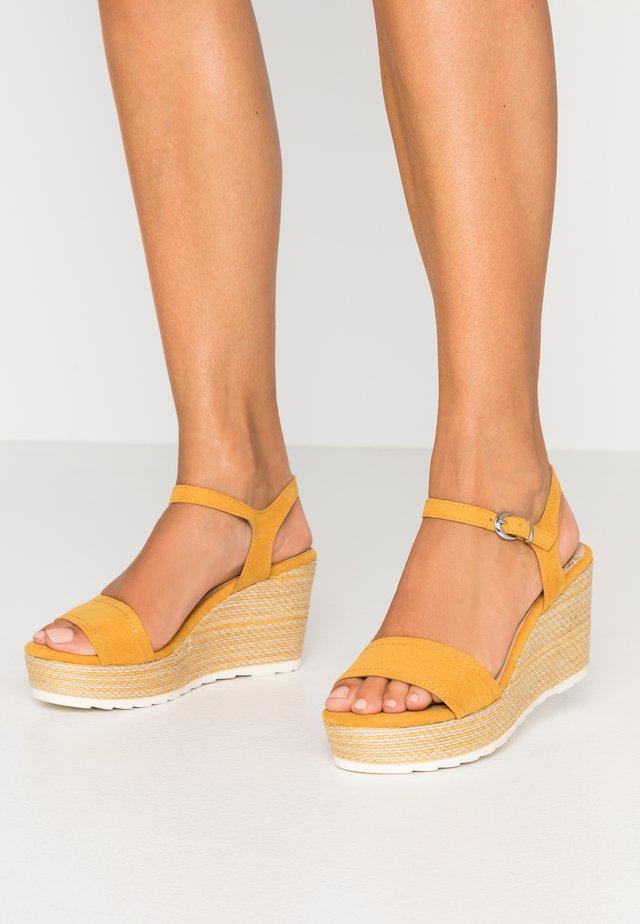 High Heel Sandalette - saffron