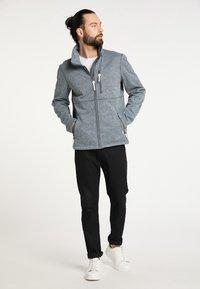 ICEBOUND - Light jacket - rauchmarine melange - 1