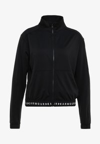 Under Armour - FULL ZIP - Chaqueta de entrenamiento - black/white - 5