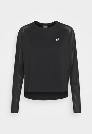 RUN - Long sleeved top - performance black/brilliant white